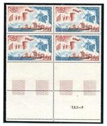 FRANCE 1966 YT N° 1486 BATAILLE D'HASTINGS, Bloc De 4, ** - Unused Stamps