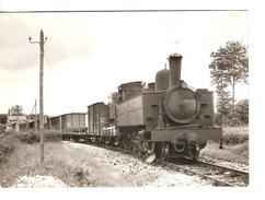 TRAIN MIXTE POUR ROSPORDEN AU DEPART DE GUISCRIFF 19.6.1963 PHOTO JL ROCHAIX 557.4 RB - Trains