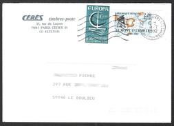 FRANCE 1966 YT N° 1490 EUROPA Sur Enveloppe - Neufs