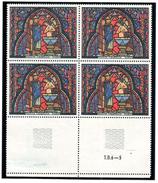 FRANCE 1966 YT N° 1492 SAINTE-CHAPELLE, Bloc De 4, ** - Unused Stamps