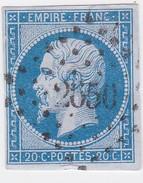 N°  14 A  /  PC  2650    RENNES   /  ILLE ET VILAINE     LOT  9916 - 1853-1860 Napoléon III