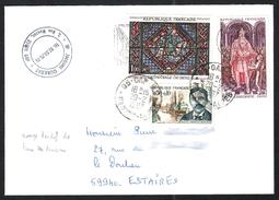 FRANCE 1966 YT N° 1497 CHARLEMAGNE Sur Enveloppe - Neufs