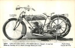 MOTOCYCLETTES COLLECTOR BIKES 1914 IXION - Motos