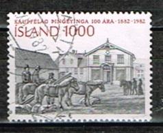 ISLANDE / Oblitérés / Used /1982 - 100 Ans Coopérative Agricole - Oblitérés