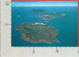 CARTOLINA NV ITALIA - ISOLE EOLIE (ME) - Le Isole Di VULCANO LIPARI SALINA - 10 X 15 - Messina