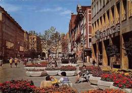 Muenchen Fussgaengerzone Blick Am Karlstor Gate Street Shops - Non Classificati