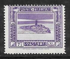 Somalia, Scott # 139a Mint Hinged Lighthouse, 1934 - Somalia