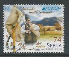 Servie, Mi 551  Jaar 2014,   Gestempeld, Zie Scan - Serbien
