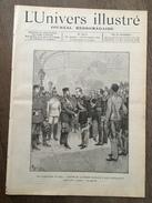 JOURNAL L UNIVERS ILLUSTRE 2070 1894 FUNERAILLES CZAR PARIS OURAGAN DU 12 NOVEMBRE - Zeitungen
