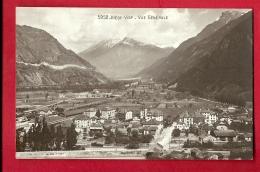 FIW-04  Visp Viège, Vue Générale. Gelaufen In 1915. Burgy 5952 - VS Valais