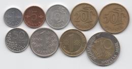 Finlande : Lot De 9 Pièces 1963-1994 Dont 1 BIMETAL - Finlandia