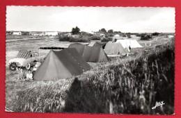 85. La Pointe De L'  Aiguillon Sur Mer. Camping.  Années 60 - France