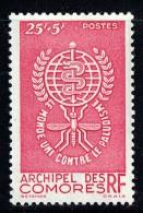 1962  Lutte Contre Le Paludisme  Yv 25 * - Unused Stamps