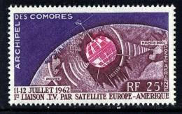 1962   1ère Liaison Par Satellite  Yv PA 7 * - Unused Stamps