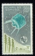 1965  Centenaire De L'U.I.T.  Yv PA 14 * - Isla Comoro (1950-1975)
