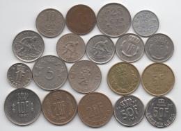 Luxembourg : Lot De 19 Pièces Différentes 1924-1990 - Luxembourg