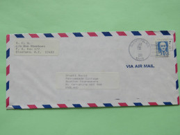 USA 1990 Cover Glenford To England - Harvey Cushing - Lettres & Documents