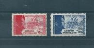 France Timbres De 1942  (légion Tricolore) N°565/66  Oblitéré (cote 25€) - Oblitérés