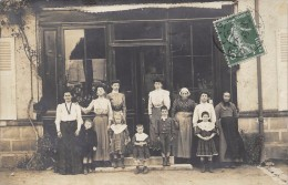 CARTE PHOTO 45 A ETE POSTEE A LORRIS  1908 - Frankrijk
