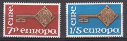 Ireland 1968 Europa CEPT Mi#202-203 Mint Never Hinged - 1949-... Republic Of Ireland