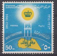 Libya 1964 Mi#150 Mint Never Hinged