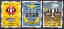 Libya 1962 Mi#122-124 Mint Never Hinged