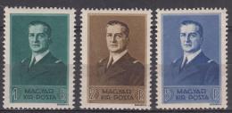 Hungary 1938 Mi#565-567 Mint Never Hinged