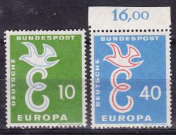 Germany 1958 Europa CEPT Mi#295-296 Mint Never Hinged