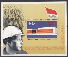 Germany East 1976 Mi#Block 45 Mint Never Hinged