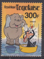 Togo Togolaise 1980 Disney Mi#1484 Mint Never Hinged - Disney
