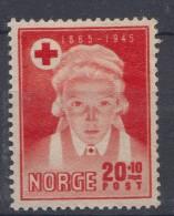 Norway 1945 Mi#307 Mint Hinged