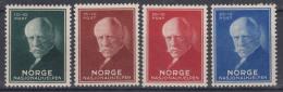 Norway 1940 Mi#211-214 Mint Hinged