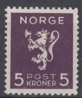Norway 1940 Mi#210 Mint Hinged