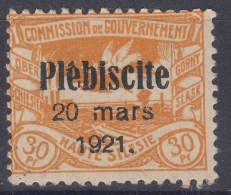 Germany Haute Silesie 1921 Mi#34 Mint Hinged - Germany