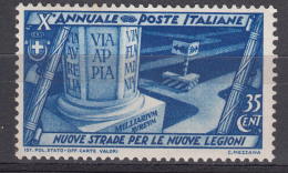 Italy Kingdom 1932 Sassone#331 Mi#421 Mint Hinged - 1900-44 Victor Emmanuel III