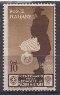 Italy Kingdom 1934 Sassone#366 Mi#494 Mint Hinged - 1900-44 Victor Emmanuel III