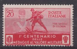 Italy Kingdom 1934 Sassone#368 Mi#496 Mint Hinged - 1900-44 Victor Emmanuel III