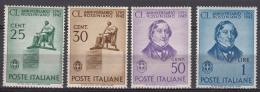 Italy Kingdom 1942 Sassone#466-469 Mi#638-641 Mint Never Hinged - 1900-44 Victor Emmanuel III