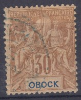 Obock 1892 Yvert#40 Used - Oblitérés