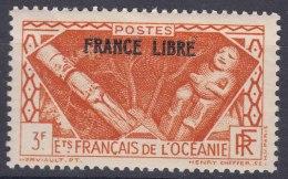 "Oceania Oceanie 1934 ""France Libre"" Yvert#146 Mint Hinged - Oceania (1892-1958)"