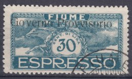 Fiume 1921 Sassone#E5 Used - 8. WW I Occupation