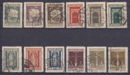 Fiume 1923 Sassone#190-201 Michel#154-165 Used - Fiume