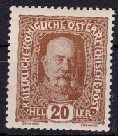 Austria 1916 Mi#191 Mint Hinged