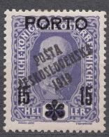 Czechoslovakia 1919 Mi#95 Mint Hinged