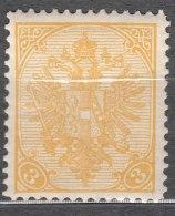 Austria Feldpost Occupation Of Bosnia 1900 Mi#12 A Mint Hinged