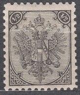 Austria Feldpost Occupation Of Bosnia 1879 Mi#9 II (tipography Print Technique) Mint Hinged