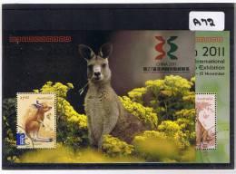 Australia 2011 China 2m/s Fine Used A72 - 2010-... Elizabeth II