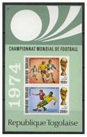 TOGO TOGOLAISE SHEET SPORTS SOCCER FOOTBALL WORLD CUP GERMANY 1974 - Coppa Del Mondo