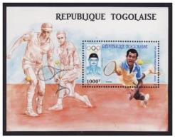 TOGO TOGOLAISE SHEET SPORTS TENNIS OLYMPIC GAMES SEOUL 1988 - Ete 1988: Séoul