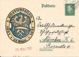 11 Mai 1931- OBERFCHLEFIEN 1931 - Allemagne